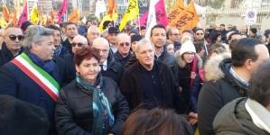Foggia non ci sta e non vuole rassegnarsi: marcia silenziosa contro la mafia