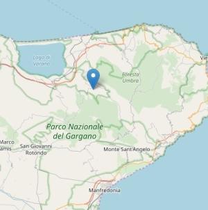 Paura nella notte, trema il Gargano: scossa di terremoto di magnitudo 3.6