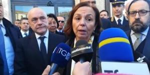 Inaugurata la sede DIA a Foggia, Lamorgese: «Risposta dello Stato forte ed efficace»